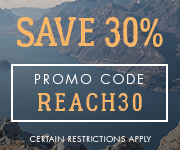Save with promo code REACH30